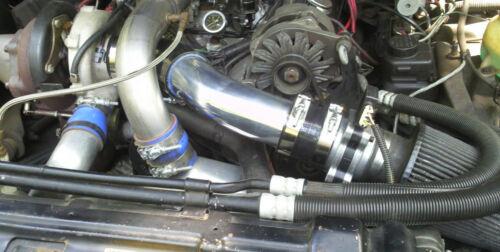 """mass air flow  -Blue Grand National intake kit 3/"""" MAF PIPE"""