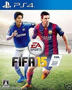 Used-PS4-FIFA-15-SONY-PLAYSTATION-4-JAPAN-JP-JAPANESE-JAPONAIS-IMPORT