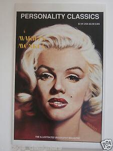 Marilyn Monroe Comics Magazine Personality Classics RARE Mint - London, United Kingdom - Marilyn Monroe Comics Magazine Personality Classics RARE Mint - London, United Kingdom