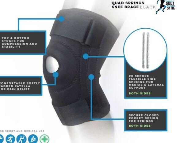 Affidabile Neoprene Rotula Stabilizzante Tutore Ginocchio Supporto Cinghia Cinturino Regolabile