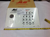 Jlg 3251895 Nameplate Decal Ground Control Lid Manlift Dash Panel In Box