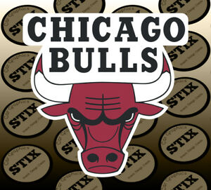 Chicago Bulls NBA Decal Sticker Car Truck Window Bumper Laptop Wall