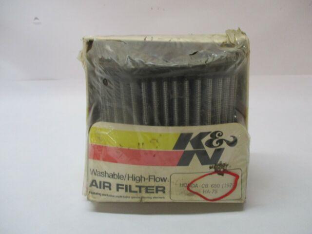 NEW K&N K AND N AIR FILTER CLEANER WASHABLE HIGH FLOW 79 CB650 HONDA CB 650 HA75