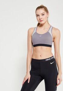 62a4361efcb55 Nike Sz M Motion ADAPT High-support Compression Sports Bra 888575 036