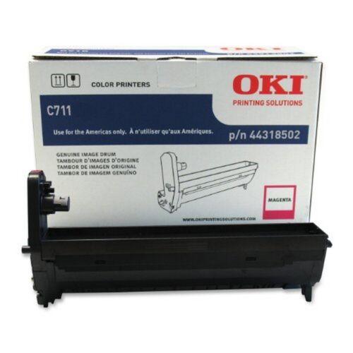 OKIDATA OKI44318502 C711Dn-Magenta Drum-20,000 Page Yield NEW