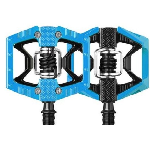 Black Crank Brothers Double Shot 3 Bike Pedals NEW