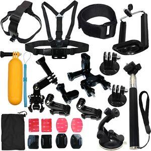 Accessories Kit Mount for Gopro go pro hero 7 6 5 Session 4 SJCAM/Xiaomi yi EKEN