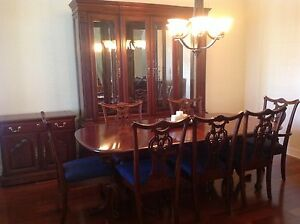 cherry wood heirloom pennsylvania house dining room set w lighted rh ebay com pa house cherry dining room set Pennsylvania House Cherry Bedroom Furniture