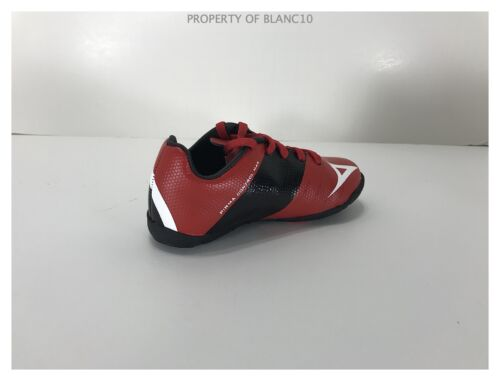 Pirma TODDLER Indoor Soccer Cleats-Style 181-Red//Black-Supreme Mamba