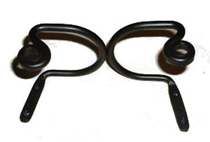 Black Wrought Iron Curtain Tie backs Scroll USA Made Hand Forged 1 Pair