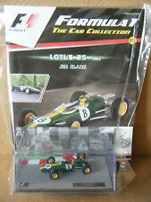 """Panini F1 Car collection """"LOTUS 25 -1963 JIM CLARK"""". Scale 1:43. New & Sealed"""