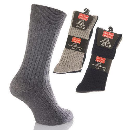 UK 6-11 WIDE-TOP non-elastic Premium Quality Socks EU 49-45 6 or 12 Pairs