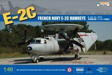 Kinetic 1/48 Scale French Navy E-2C Hawkeye Plastic Model Kit K48015