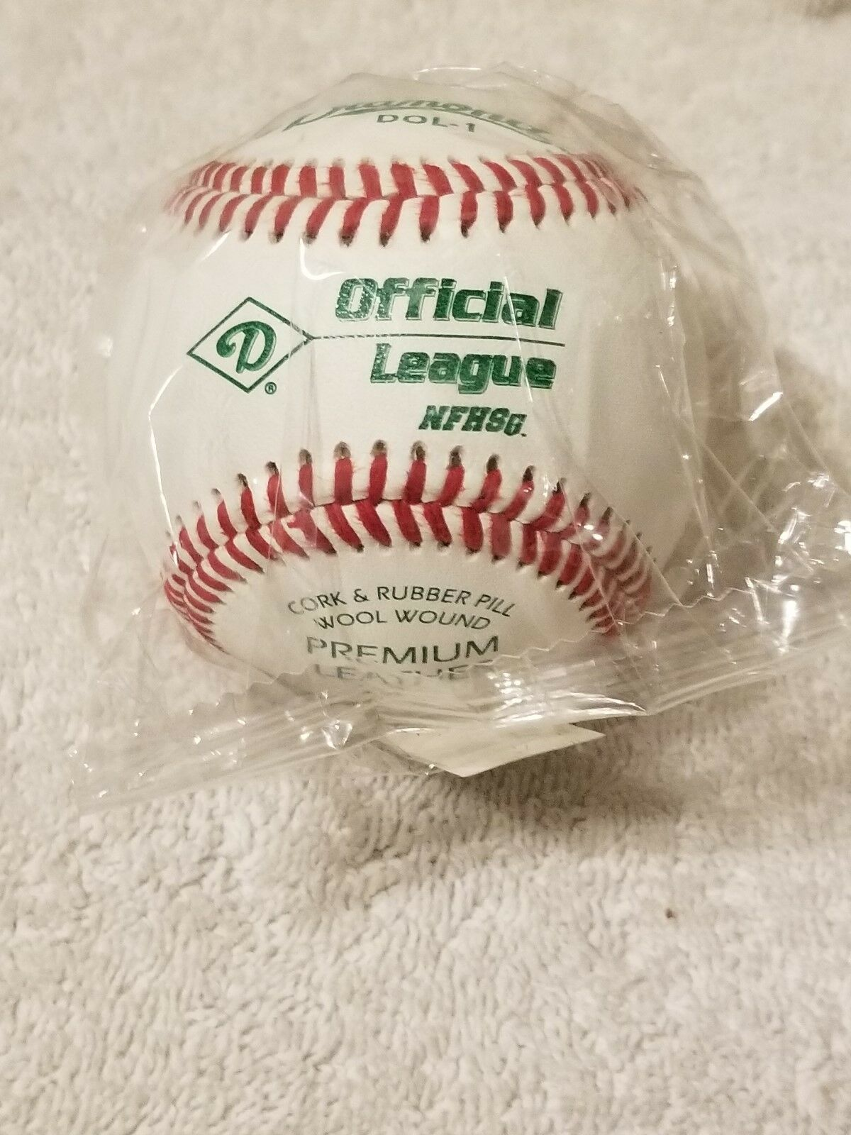 1 Dozen NEW Still in Wrapper Diamond DOL1-NFHS Baseballs High School Approved