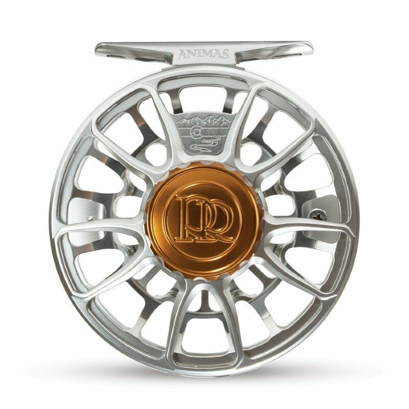 Ross Animas Fly Reel - Size 4 5 - color Platinum - NEW for 2019