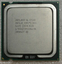 Intel Core 2 Duo E7500 - 2,93 GHz de doble núcleo slgte Procesador Sin Caja Cpu Solo