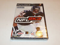 Nfl 2k3 Sony Playstation 2 Ps2 Video Game Sealed