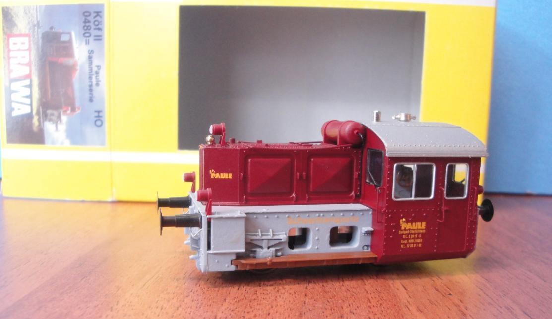 Brawa 0480, diesellokomotive, Köf II, PAULE, scale H0, neu