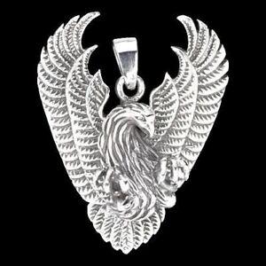 Phoenix-Anhaenger-Silber-Gothic-Schmuck-NEU