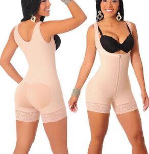 Faja para mujer//Reductora Fajas Levanta Cola Colombianas BodyShaper Vedette 189