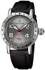 Chronoswiss Timemaster 150 Automatic Steel Mens Strap Watch Date CH-2733-WH/31-1