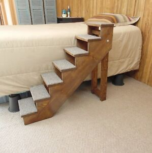Image Is Loading Wood Pet Stairs Handmade Folding Pet Steps 32