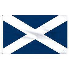 St Andrews Smiley Face Flag 5Ft X 3Ft Scottish Scotland Eurovision Banner New