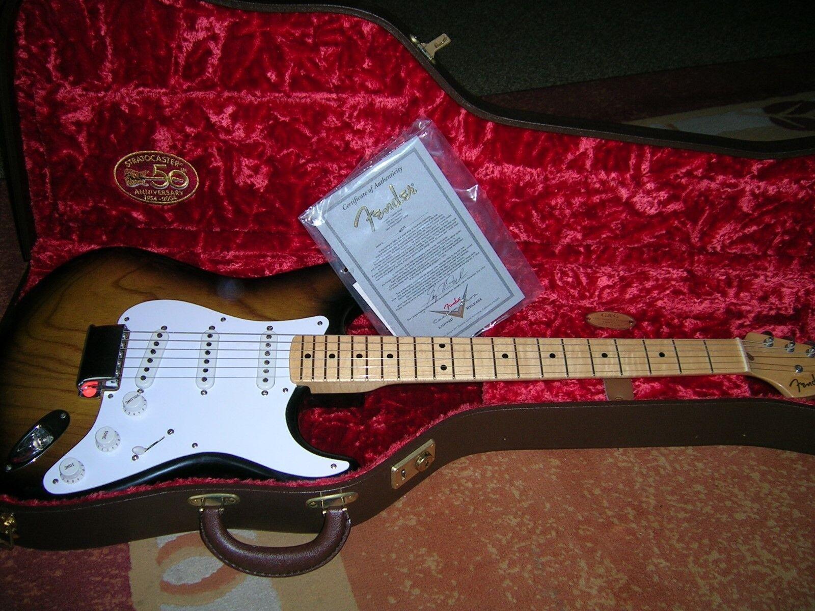 Fender Custom Shop 1954 Stratocaster 50th Anniversary Masterbuilt Greg Fessler