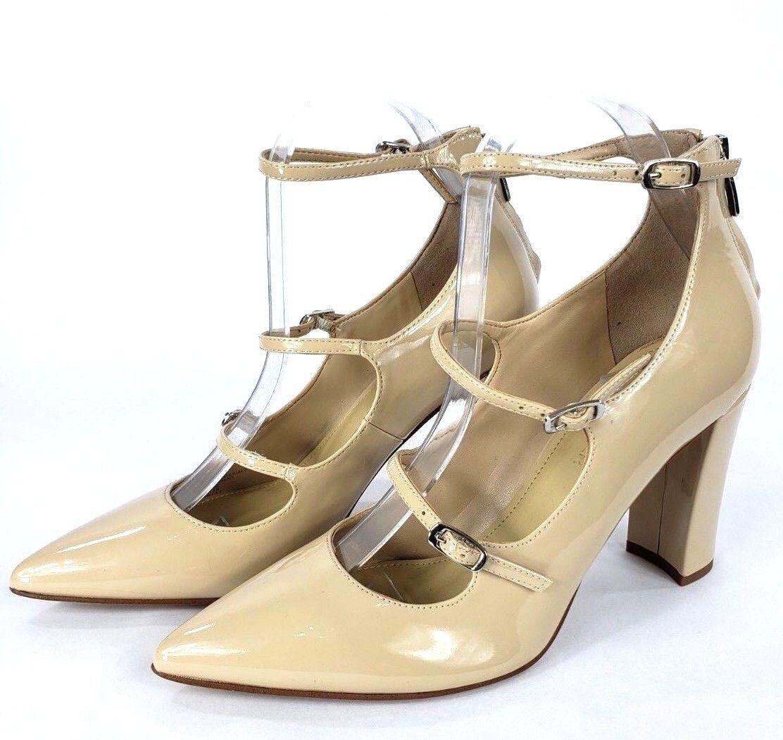 Fisher Zapatos Taco Mujer Marc Talla De Para Triple Correa 8 Bd7dwqE8