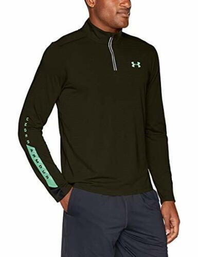 Under Armour UA Streaker Novelty 1//4 Zip Men's green S L XL RRP £45 bnwt