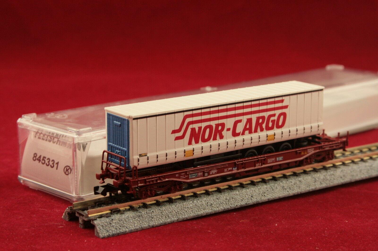 Fleischmann 845331 NSB tasche carrello  nor-cargo  scatola originale NUOVO