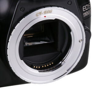 Contax-Yashica-C-Y-CY-Lens-to-CANON-EOS-EF-Mount-Adapter-Ring-For-7D-5D-60D-70D