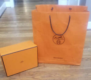 Details About Hermes Ping Bag With Box Ribbon Tissue Receipt Holder