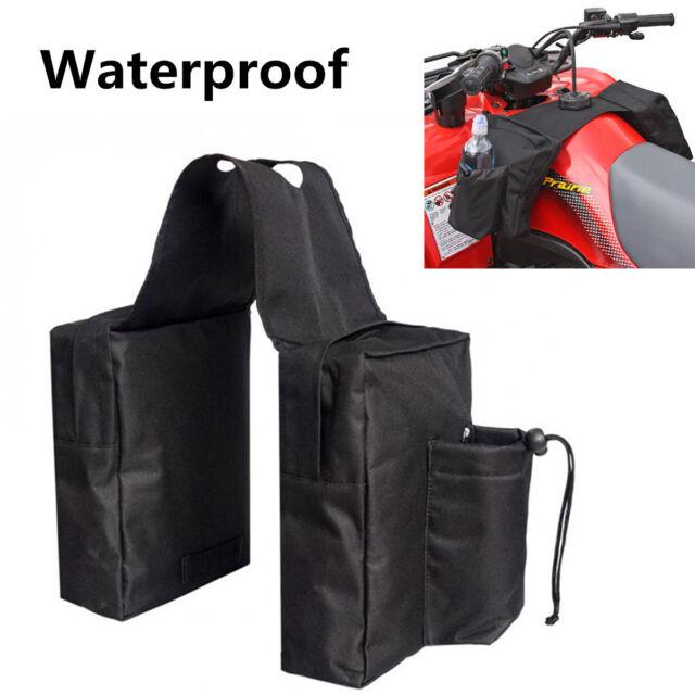 Universal ATV Snowmobile Accessory Gas Tank SaddleBag Saddle Bags  Water Bottle