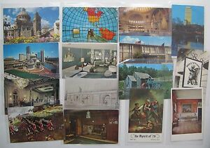 (15) Nice Postcards From Boston, Massachusetts, All Different