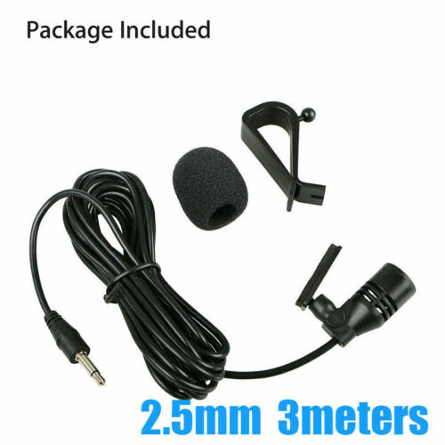 Microphone pour autoradio pioneer 2.5mm jack micro pour pioneer