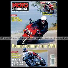 MOTO JOURNAL N°1300 HONDA CBR 900 RR HUNWICK-HALLAM YAMAHA XJ 600 DIVERSION 1997