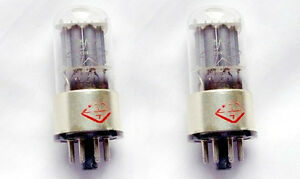 2pcs matched pair Shuguang WE6SL7 plus Vacuum Tube replace 6SL7 6N9P 6H9C 5691