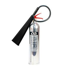 NEW-5KG-CO2-FIRE-EXTINGUISHER-CHROME