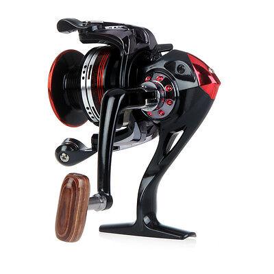 New Aluminum 12+1 BB Ball Bearing Fishing Spinning Reels High Speed 5.2:1 LK3000