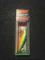Rapala Count Down Sinking Cd-5 Ft Fire Tiger 2 3/16 Oz (ireland)