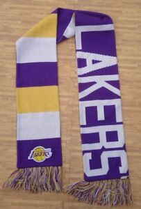 online store e9e54 d92ce Image is loading Los-Angeles-Lakers-039-47-Brand-Scarf-64-
