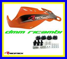 Paramani RACETECH Gladiator Easy universali Moto Motard Mini Pit-Bike (Arancio)