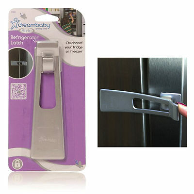 Dreambaby Refrigerator Freezer Appliance Child Safety Latch Lock Baby Proofing !