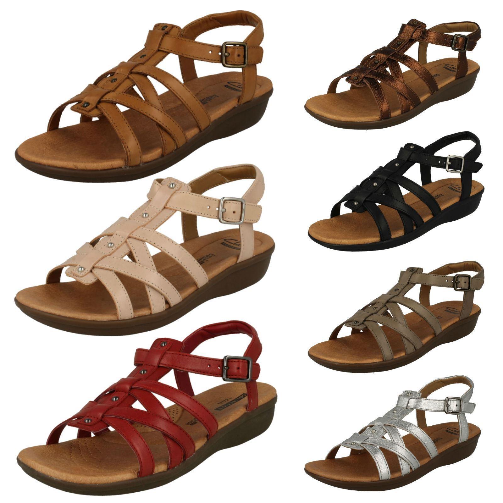 Womens Clarks Gladiator Style Sandals 'Manilla Bonita'