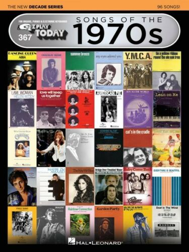 Songs of the 1970s The New Decade Series Sheet Music E-Z Play Today 000159573