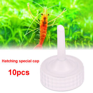 10pcs-Aquarium-Brine-Shrimp-Incubator-Cap-Artemia-Hatcher-Regulator-Valve-Kit-J