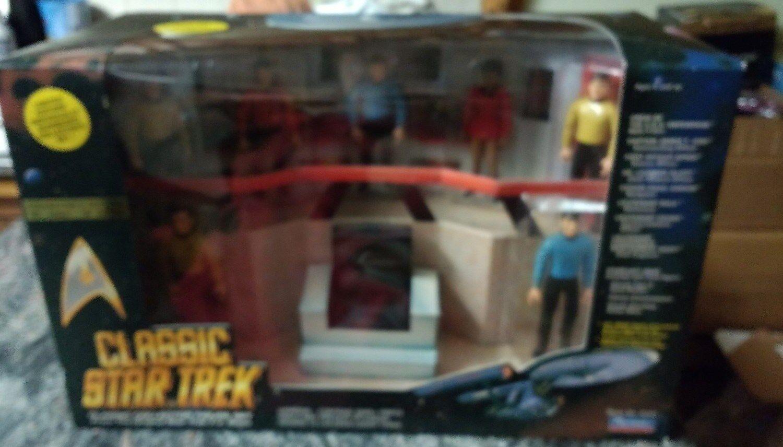 Puente clásico de Estrella Trek Coleccionista Figura Set 1993 Jugarmates   26907 Nuevo En Caja