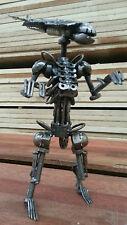 Alien Queen - sculpture from scrap metal.  Alien Predator steel model 26cm