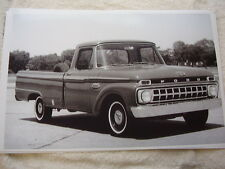 1965 FORD F100 PICKUP  11 X 17 BIG   PHOTO   PICTURE